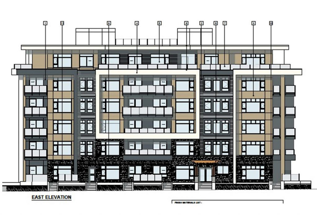 Bond Street Development East Elevation